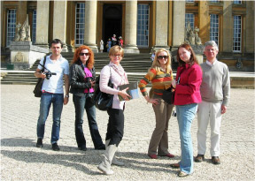A visit to Blenheim Palace
